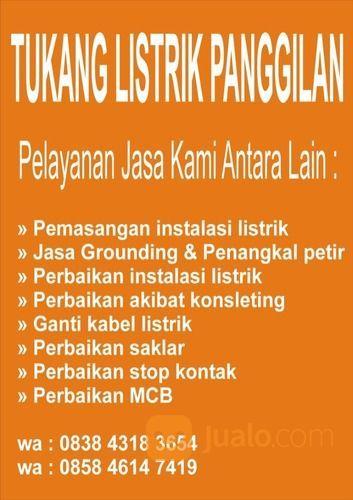 Tukang Instalasi Listrik Di Cimahi (30248874) di Kota Cimahi