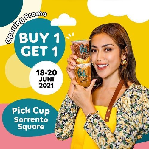 Pick Cup - BUY 1 GET 1 FREE di @pickcup.sorrento (30253428) di Kota Tangerang