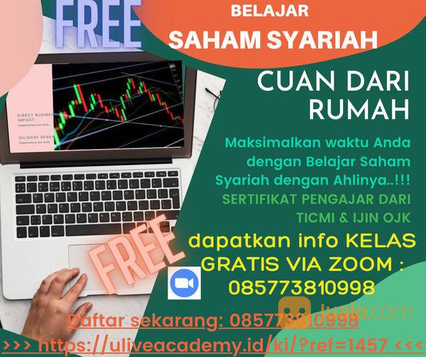 Belajar Saham Syariah Gratis (30299907) di Kota Surabaya
