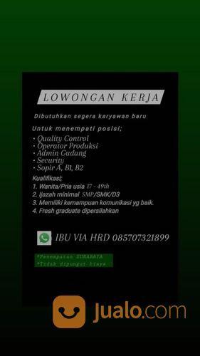 LOWKER ADMIN SIDOARJO (30340973) di Kota Surabaya