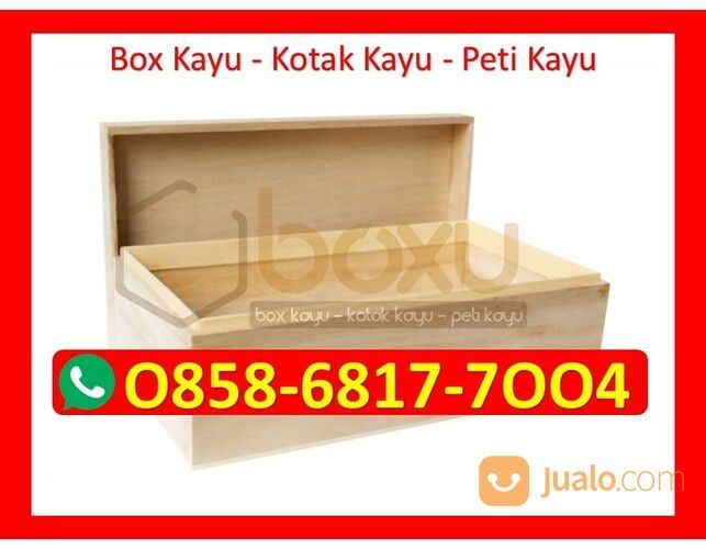 O858-68I7-7OO4 Pengrajin Box Kotak Kayu Bangka Barat (30386900) di Kota Magelang