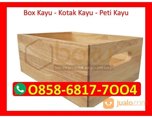O858-68I7-7OO4 Pengrajin Box Kotak Kayu Lebak (30386939) di Kota Magelang