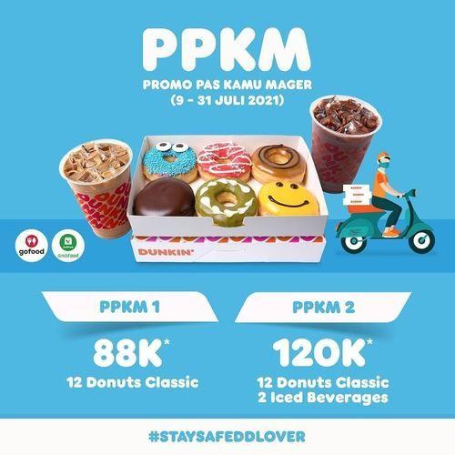 DUNKIN' PROMO PPKM (30414833) di Kota Jakarta Selatan
