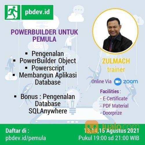 PELATIHAN : PEMROGRAMAN POWERBUILDER UNTUK PEMULA (30483509) di Kota Jakarta Selatan