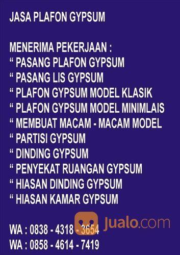Plafon Gipsum Di Bandung Barat Wa 0838 4318 3654 (30504171) di Kab. Bandung Barat