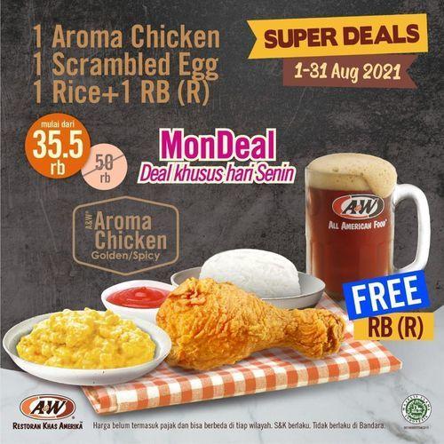 A&W SUPER DEALS !! (30528039) di Kota Jakarta Selatan
