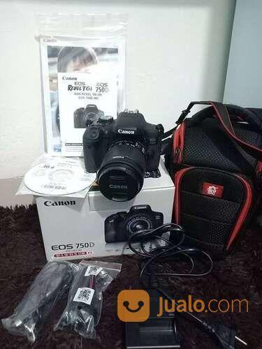Canon Eos 750d Kit (30555839) di Kota Surabaya