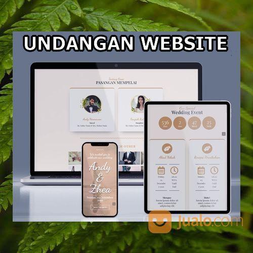 Undangan Pernikahan Unik Website Gratis Video (30556064) di Kota Bandung