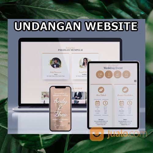 Undangan Pernikahan Digital Website Gratis Video (30556070) di Kota Bandung