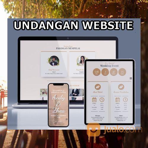 Undangan Pernikahan Website Gratis Video (30556128) di Kota Bandung