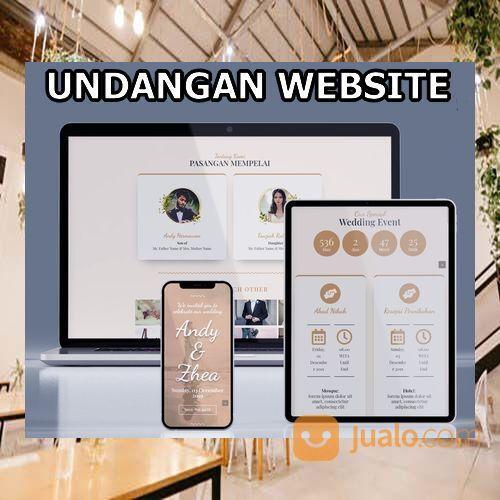 Undangan Pernikahan Website Gratis Video Murah (30556132) di Kota Bandung