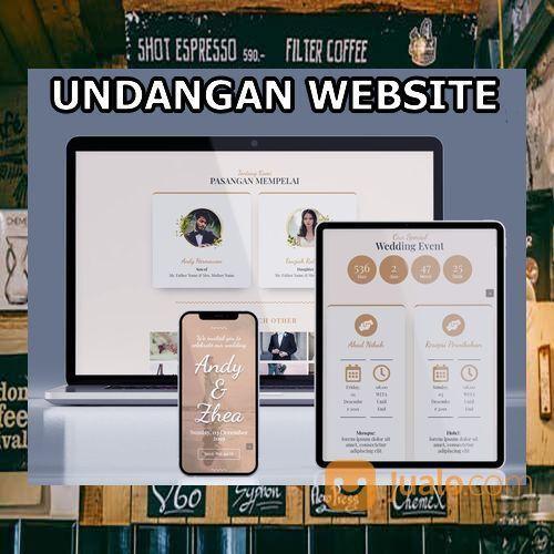 Undangan Pernikahan Mewah Website Gratis Video (30556147) di Kota Bandung