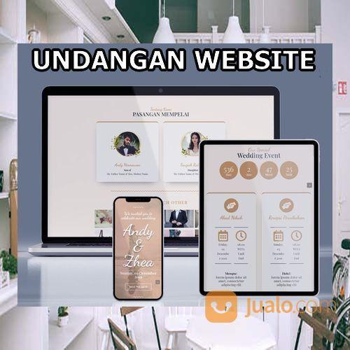 Undangan Pernikahan Unik Website Gratis Video (30556156) di Kota Bandung