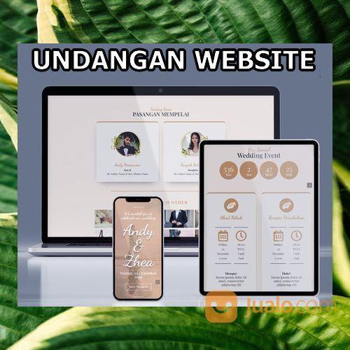 Undangan Pernikahan Unik & Murah Website Gratis Video (30556246) di Kota Bandung