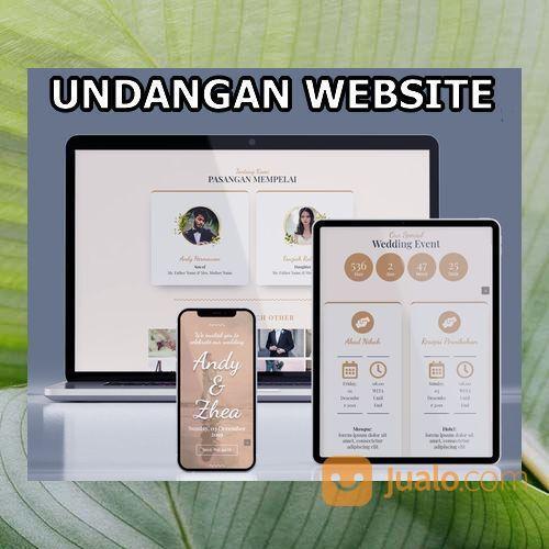 Undangan Pernikahan Unik Website Gratis Video (30556275) di Kota Bandung