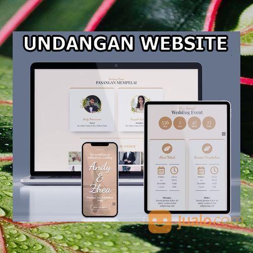 Undangan Pernikahan Digital Website Gratis Video (30556281) di Kota Bandung