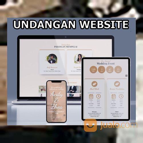 Undangan Pernikahan Digital Website Gratis Video (30556370) di Kota Bandung