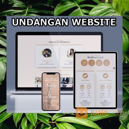 Undangan Pernikahan Website Gratis Video (30556407) di Kota Bandung