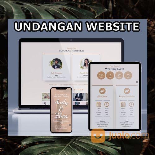 Undangan Pernikahan Digital Murah (30556534) di Kota Bandung