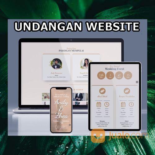 Undangan Pernikahan Website Gratis Video (30556633) di Kota Bandung