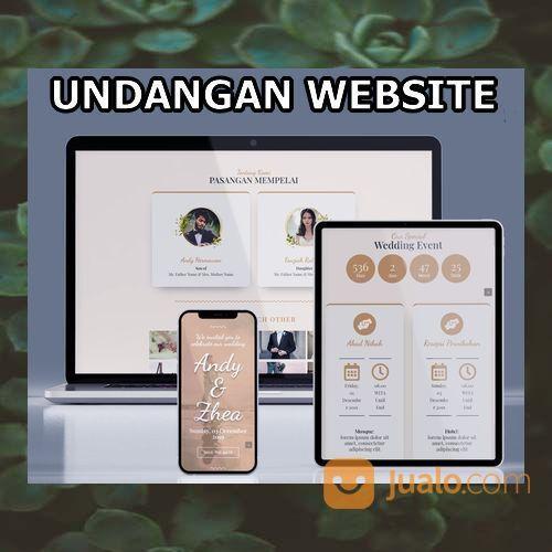 Undangan Pernikahan Website Gratis Video Murah (30556636) di Kota Bandung