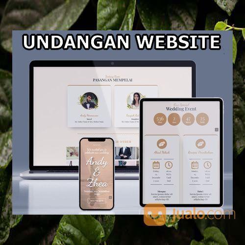 Undangan Pernikahan Website Gratis Video Murah (30556641) di Kota Bandung