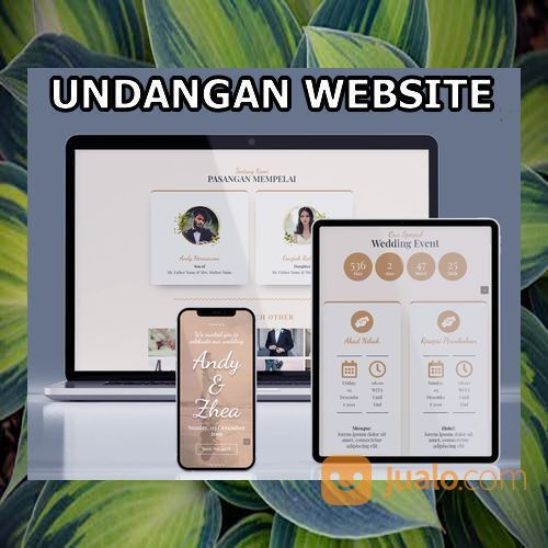Undangan Pernikahan Website Gratis Video Murah (30556745) di Kota Bandung