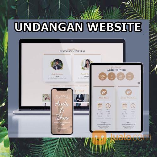 Undangan Website Gratis Video Murah (30556748) di Kota Bandung
