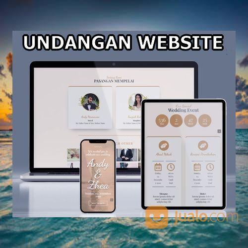 Undangan Pernikahan Digital Murah (30556775) di Kota Bandung