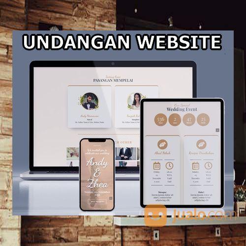 Undangan Pernikahan Website Gratis Video (30556855) di Kota Bandung