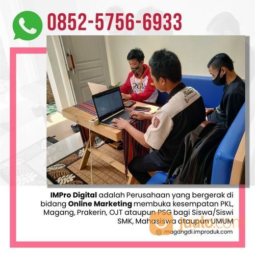 WA: 0852-5756-6933, Tempat PKL Jurusan Ilmu Komputer Di Malang (30582308) di Kab. Malang