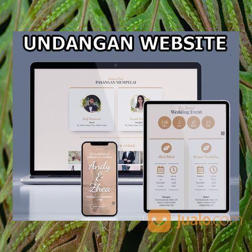Undangan Website Gratis Video Murah (30598509) di Kota Bandung