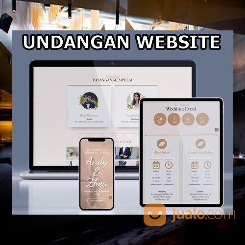 Undangan Pernikahan Digital Murah (30598532) di Kota Bandung