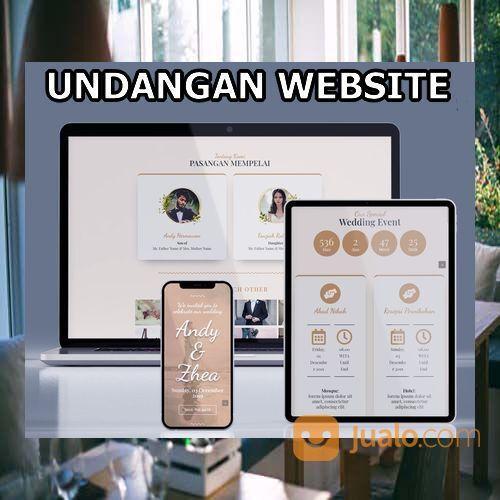Undangan Pernikahan Unik & Murah Website Gratis Video (30598583) di Kota Bandung