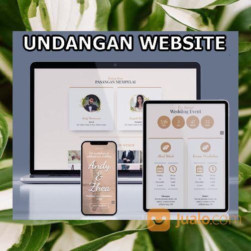 Undangan Pernikahan Website Gratis Video Murah (30598637) di Kota Bandung