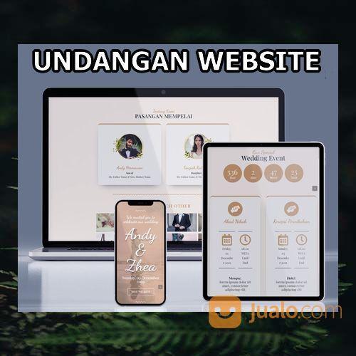 Undangan Pernikahan Website Gratis Video Murah (30598780) di Kota Bandung