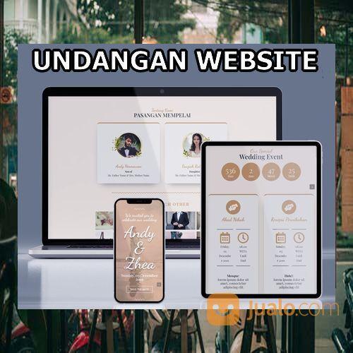 Undangan Pernikahan Unik & Murah Website Gratis Video (30598788) di Kota Bandung