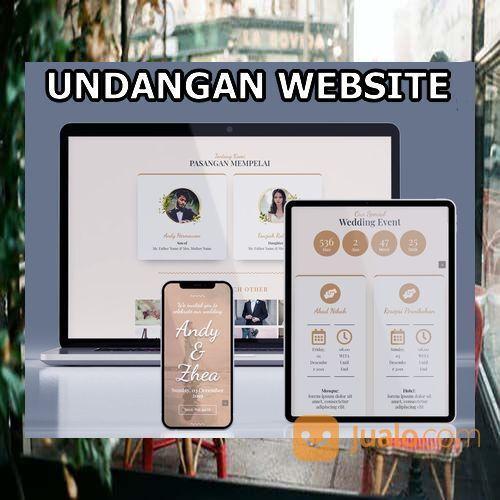 Undangan Pernikahan Unik Website Gratis Video (30598799) di Kota Bandung