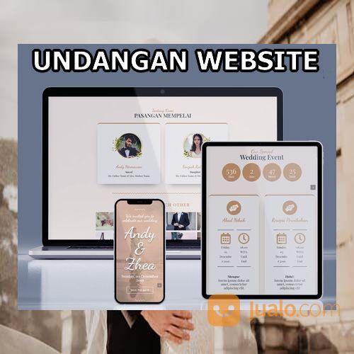 Undangan Pernikahan Mewah Website Gratis Video (30598927) di Kota Bandung