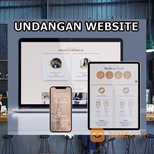 Undangan Pernikahan Digital Website Gratis Video (30598941) di Kota Bandung