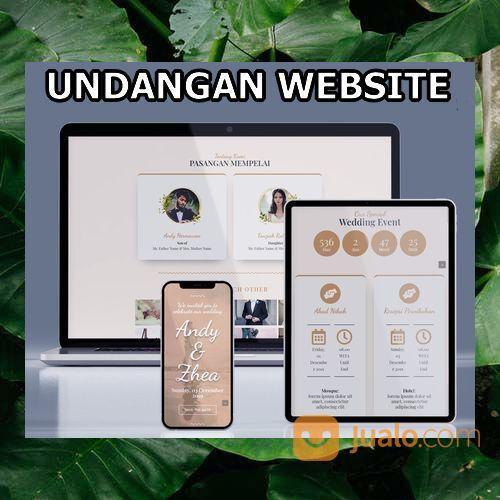 Undangan Pernikahan Digital Murah (30598944) di Kota Bandung