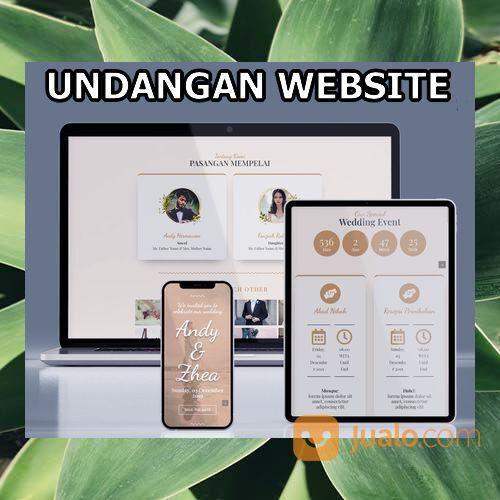 Undangan Pernikahan Unik & Murah Website Gratis Video (30598992) di Kota Bandung