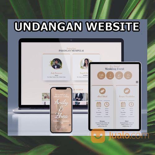 Undangan Pernikahan Unik Website Gratis Video (30599069) di Kota Bandung