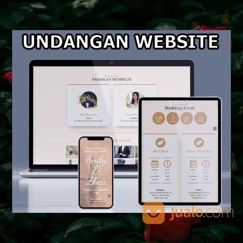 Undangan Pernikahan Digital Murah (30599079) di Kota Bandung