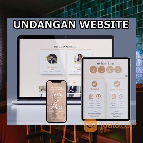 Undangan Pernikahan Unik & Murah Website Gratis Video (30599116) di Kota Bandung