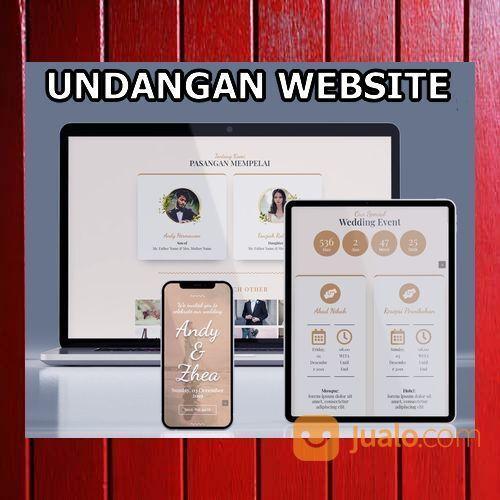 Undangan Pernikahan Website Gratis Video Murah (30599167) di Kota Bandung