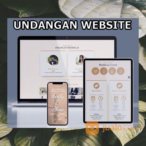 Undangan Pernikahan Mewah Website Gratis Video (30599178) di Kota Bandung
