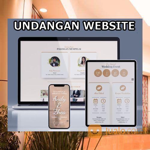Undangan Pernikahan Digital Murah (30599271) di Kota Bandung