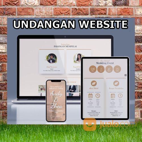 Undangan Pernikahan Website Gratis Video Murah (30599310) di Kota Bandung