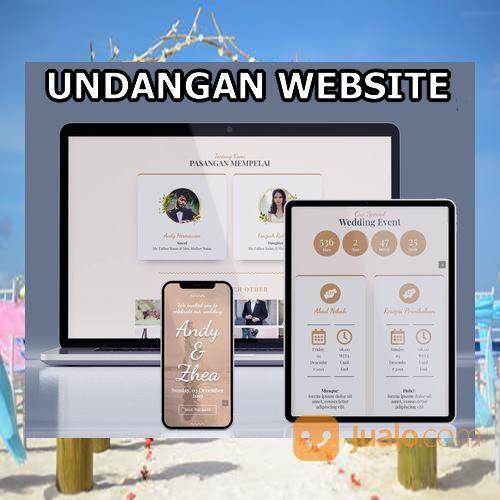 Undangan Pernikahan Unik Website Gratis Video (30599342) di Kota Bandung